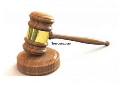 Abogado ofrezco servicios jurídicos a de parcela, o terreno
