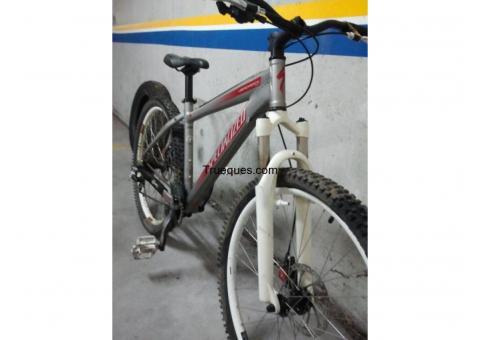 Bici dirty specialized por bici descenso doble