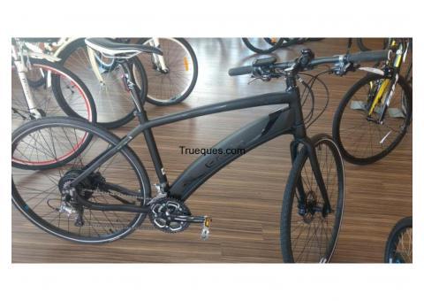 Bicicleta bh carbono electrica por moto aprilia 125