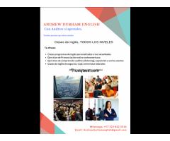 Clases de inglés nativo x creación de página en wordpress - 1/3
