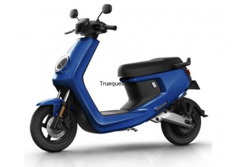 Cambio moto eléctrica nueva por producto/s o servicio/s