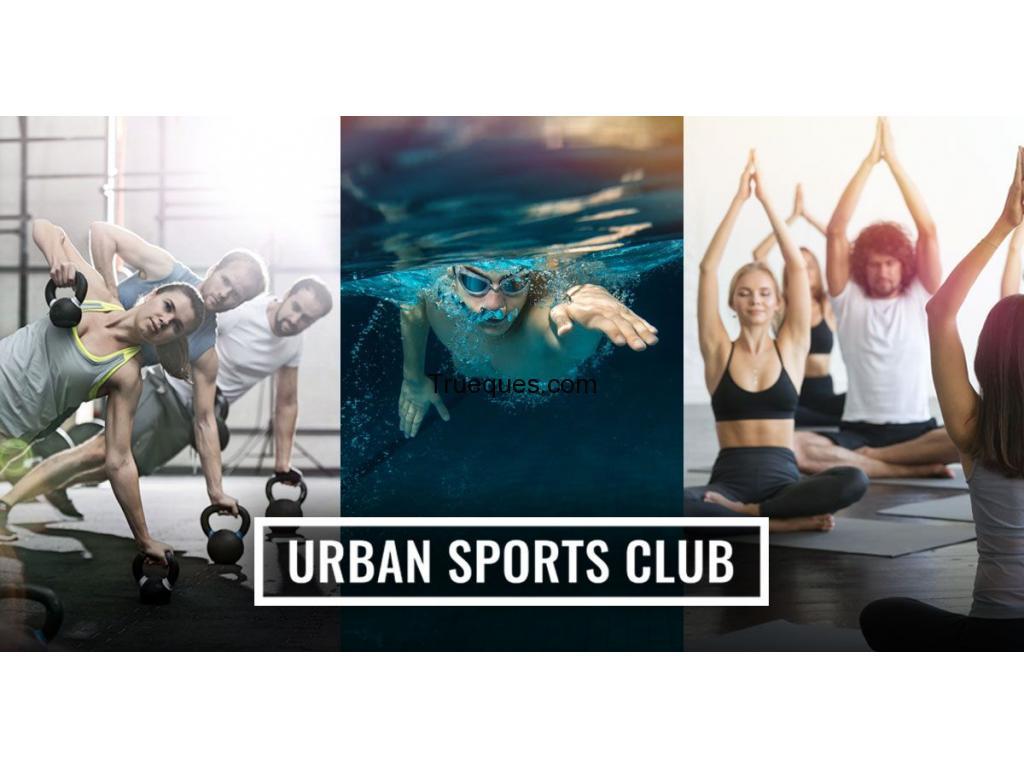 Entrada al urban sport club - 1/1