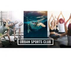 Entrada al urban sport club