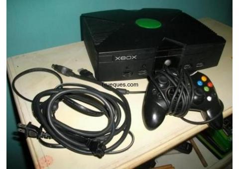 Xbox primera generacion en perfecto estado y funcionamiento