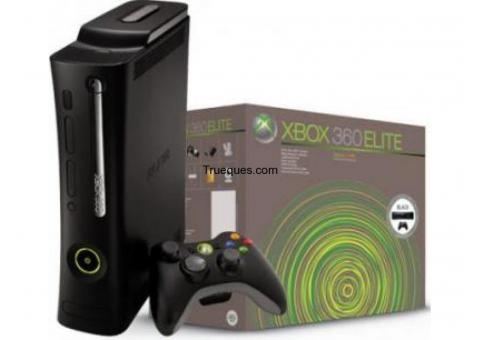 Xbox360 elite 120gb + un mando+ 6 juegos.
